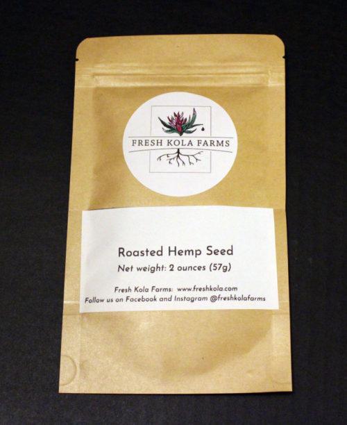 roasted hemp seed